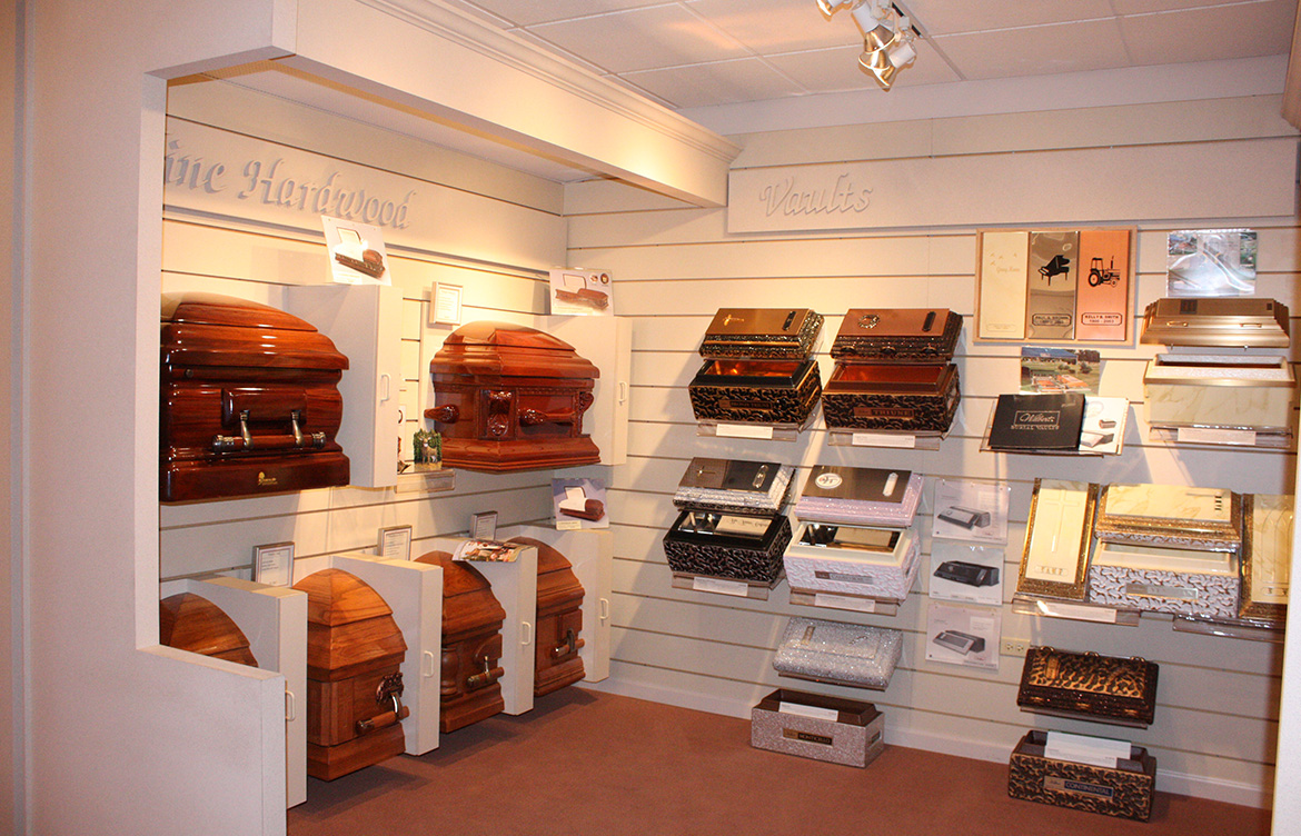 The Casket and Vault Display